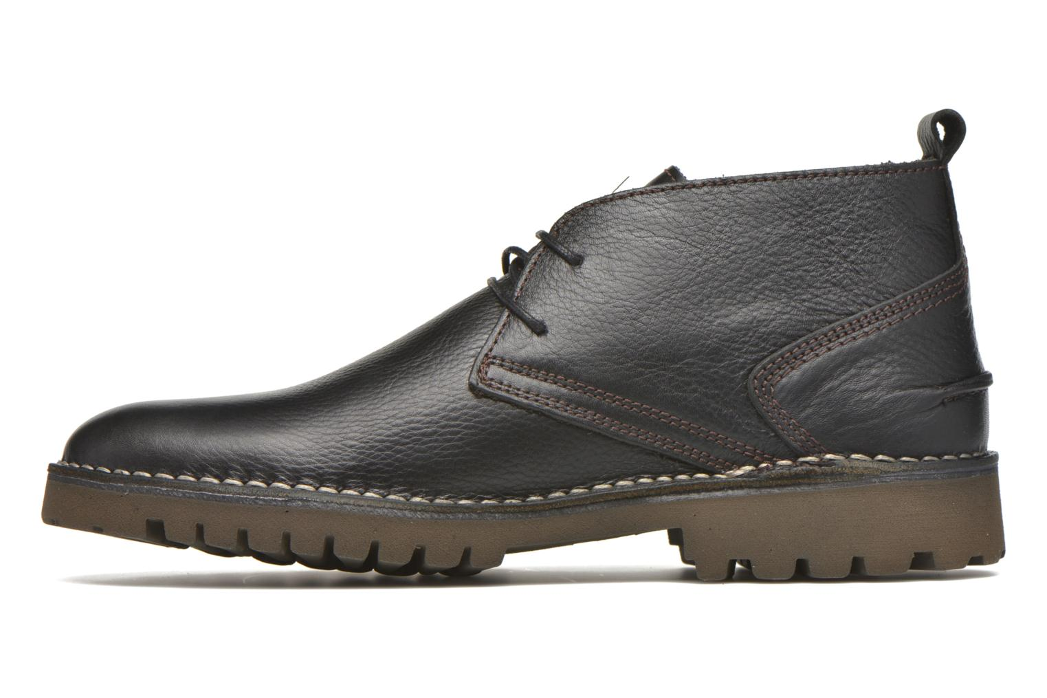 Lace-up shoes TBS Maxime Black front view
