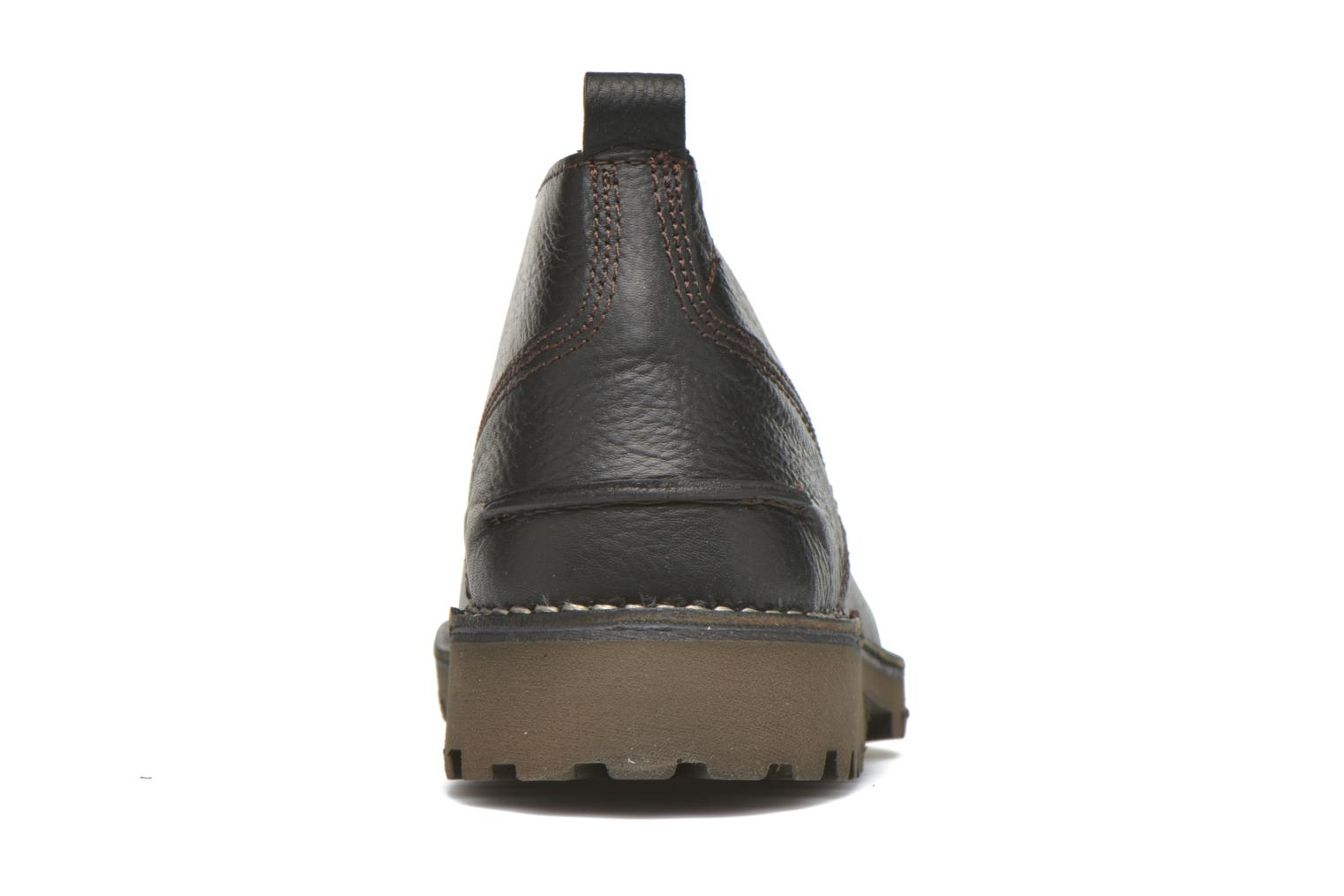 Lace-up shoes TBS Maxime Black view from the right