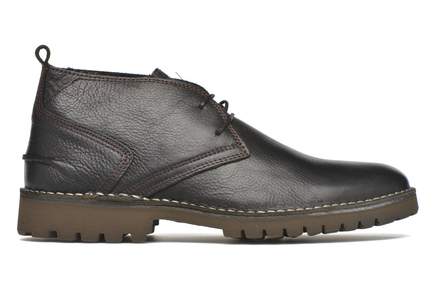 Lace-up shoes TBS Maxime Black back view