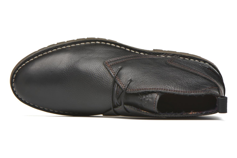 Chaussures à lacets TBS Maxime Noir vue gauche