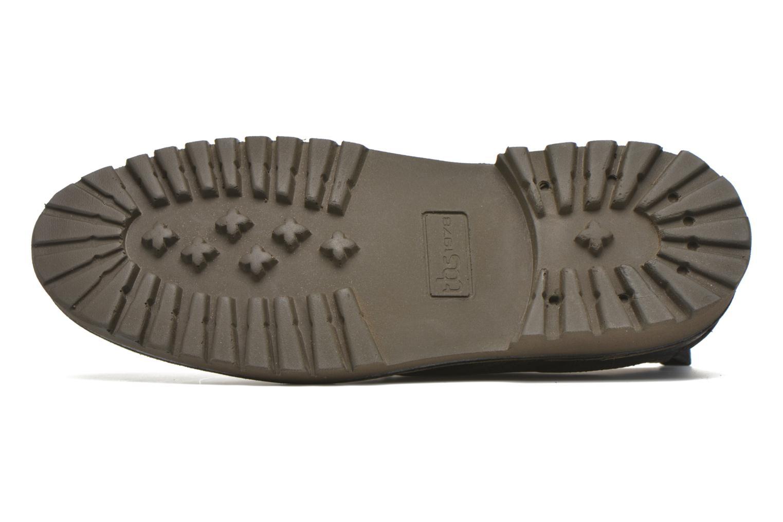 Chaussures à lacets TBS Maxime Noir vue haut