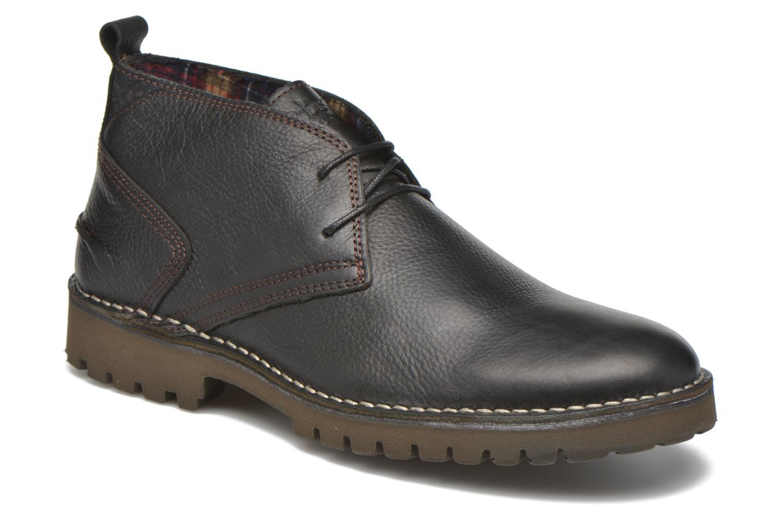 Chaussures à lacets TBS Maxime Noir vue détail/paire