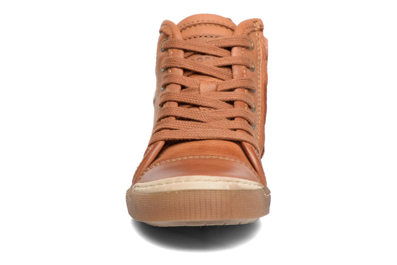 Baskets Bisgaard Henrik Marron vue portées chaussures