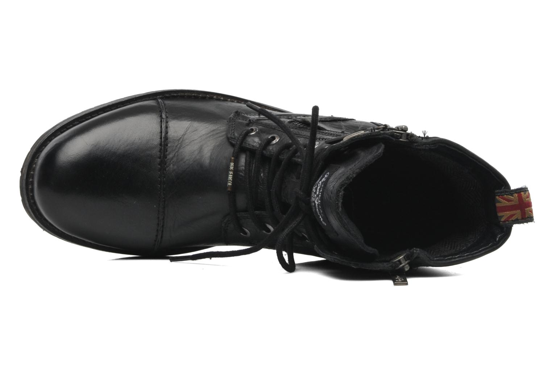 Melting Zipper Black