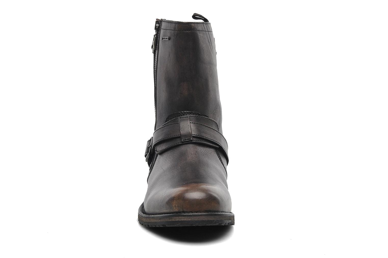 Bottines et boots Pepe jeans Melting Biker Heritage Noir vue portées chaussures