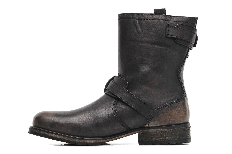 Bottines et boots Pepe jeans Melting Biker Heritage Noir vue face