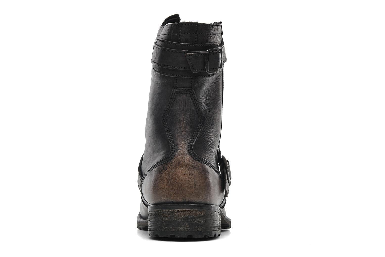Bottines et boots Pepe jeans Melting Biker Heritage Noir vue droite