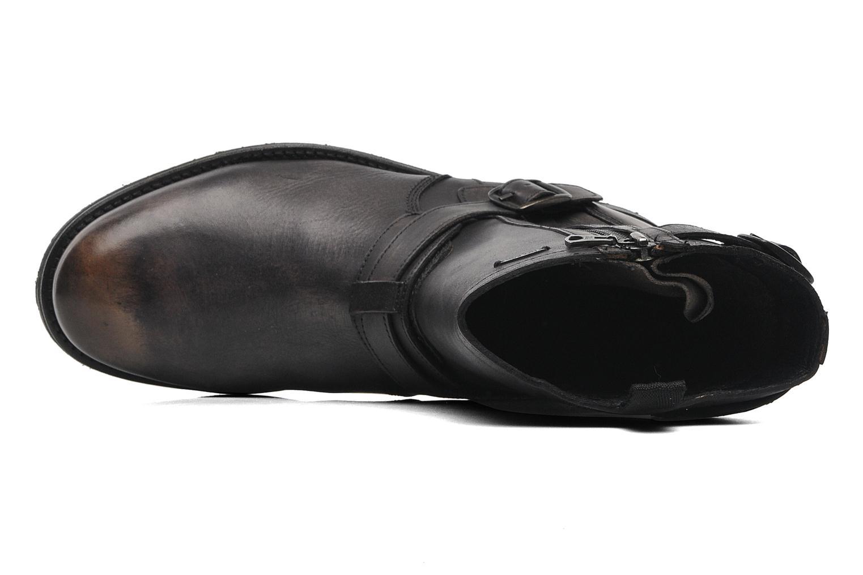 Bottines et boots Pepe jeans Melting Biker Heritage Noir vue gauche