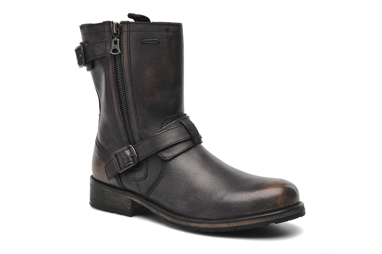 Bottines et boots Pepe jeans Melting Biker Heritage Noir vue détail/paire