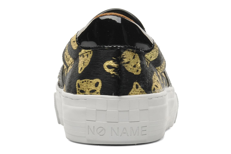 Baskets No Name Arcade Slip On Noir vue face