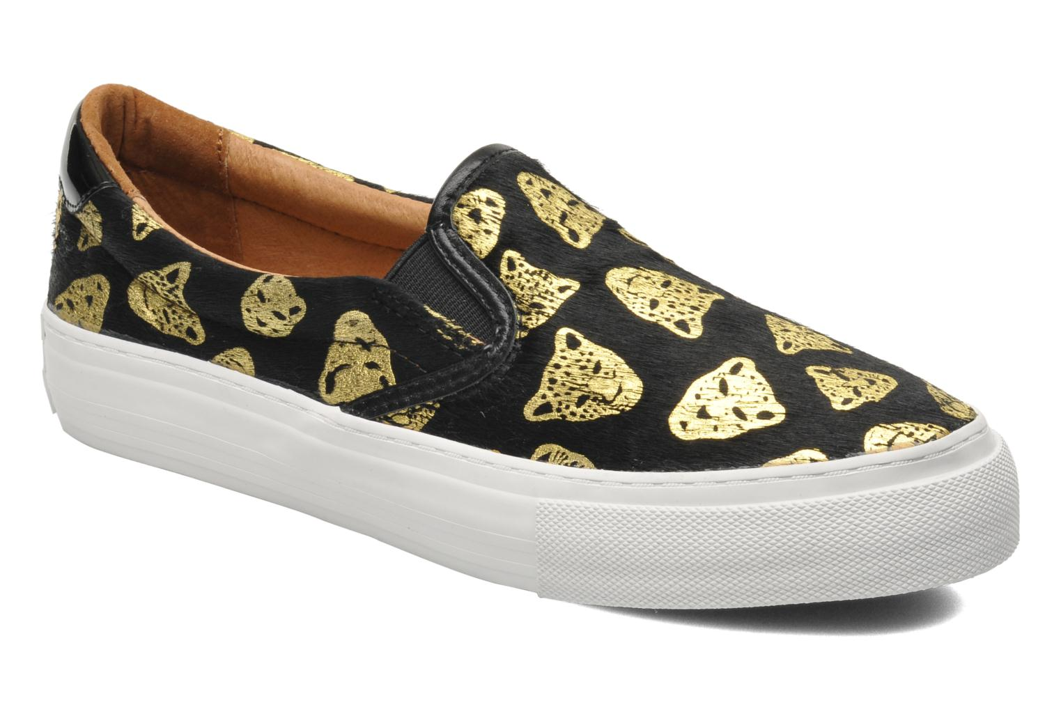 Arcade Slip On Tiger Black Gold