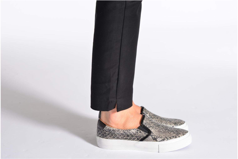 Sneaker No Name Arcade Slip On silber ansicht von unten / tasche getragen