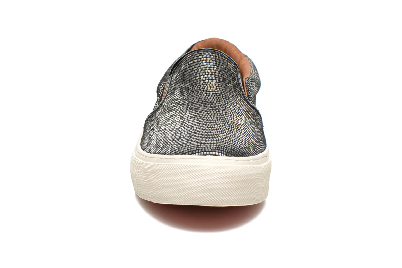 Baskets No Name Arcade Slip On Argent vue portées chaussures