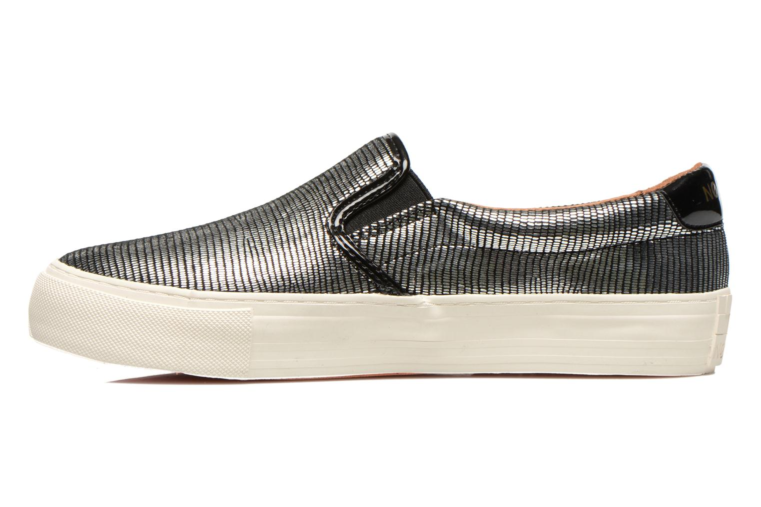 Sneakers No Name Arcade Slip On Zilver voorkant