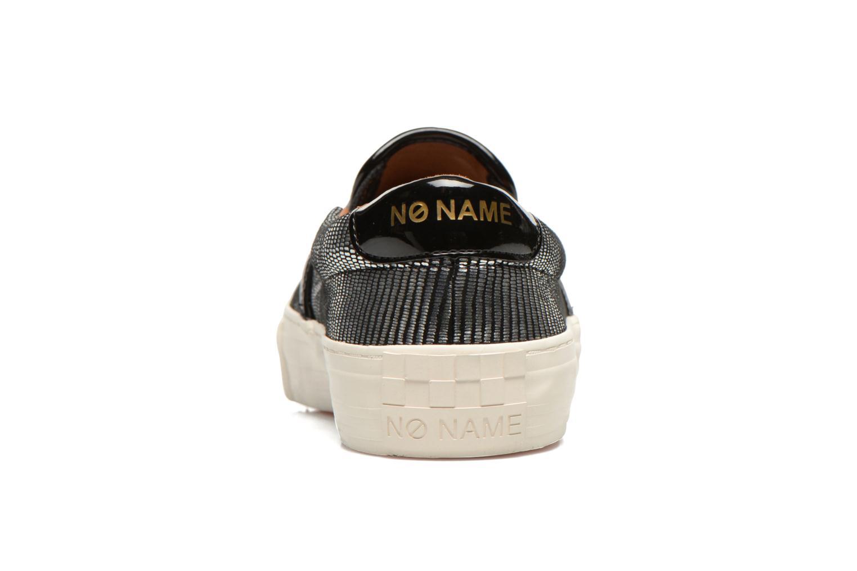 Sneaker No Name Arcade Slip On silber ansicht von rechts