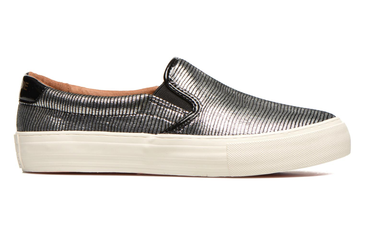 Sneakers No Name Arcade Slip On Zilver achterkant