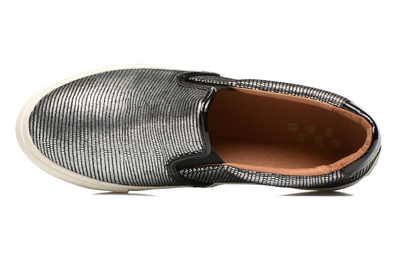 Sneaker No Name Arcade Slip On silber ansicht von links
