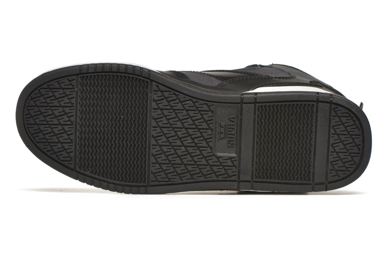 Baskets Supra Bleeker Noir vue haut