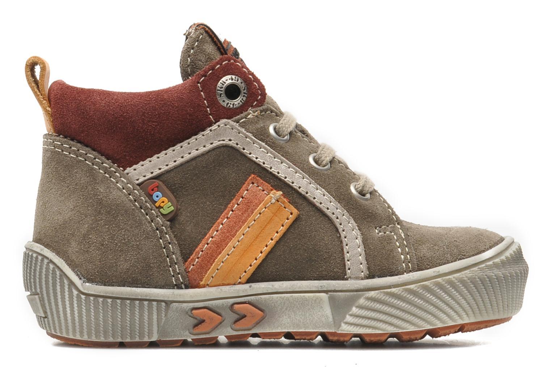 Sneaker Bopy BOB grau ansicht von hinten