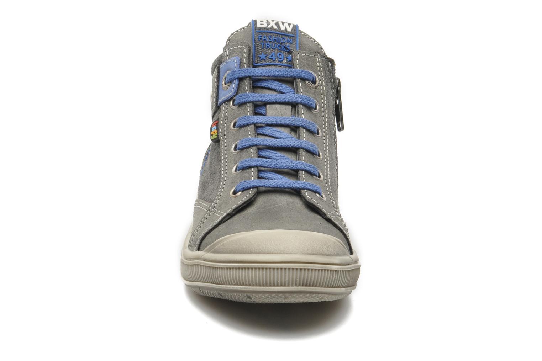 Baskets Bopy VOMBEC Gris vue portées chaussures