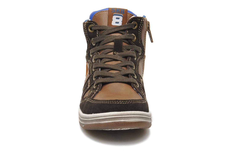 Baskets Bopy TOTUZOR Marron vue portées chaussures