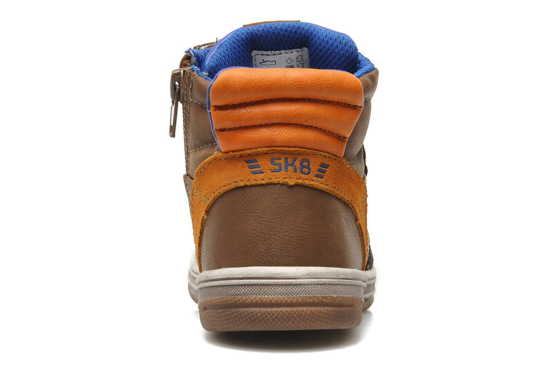Sneaker Bopy TOTUZOR braun ansicht von rechts