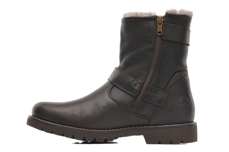Bottines et boots Panama Jack Faust Igloo Marron vue face