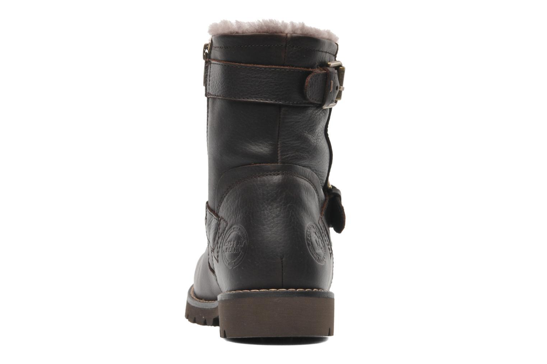 Bottines et boots Panama Jack Faust Igloo Marron vue droite