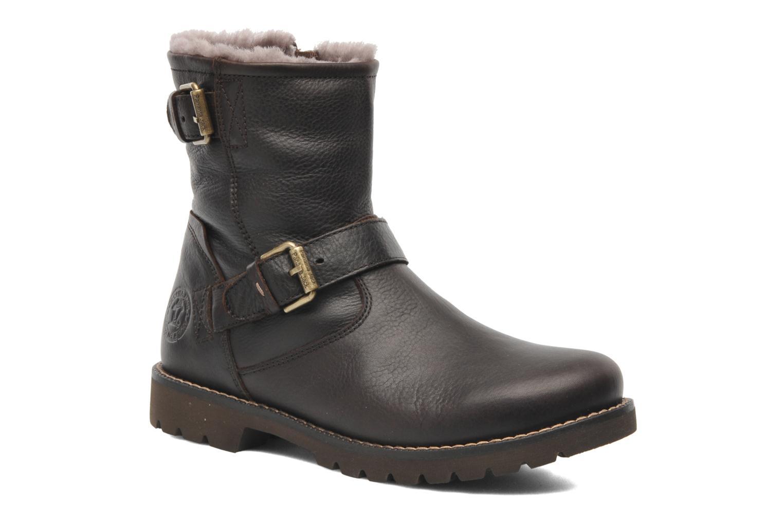Boots en enkellaarsjes Panama Jack Faust Igloo Bruin detail