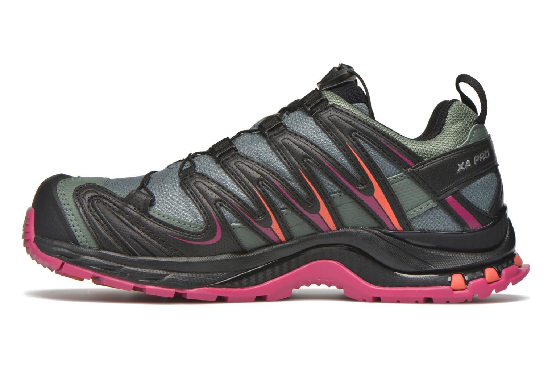 Chaussures de sport Salomon XA Pro 3D GTX W Noir vue face