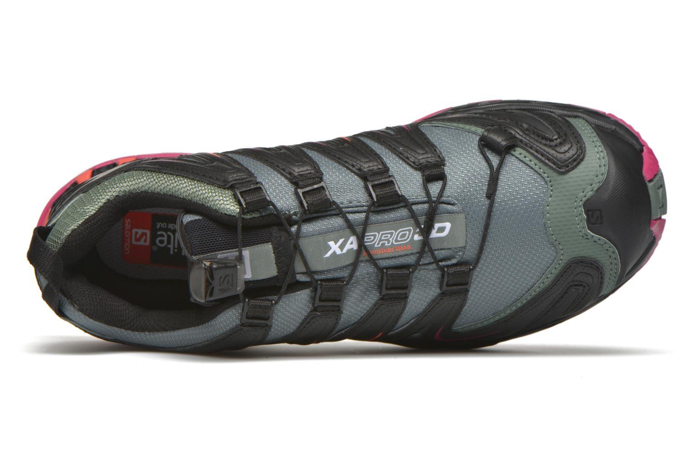 Chaussures de sport Salomon XA Pro 3D GTX W Noir vue gauche