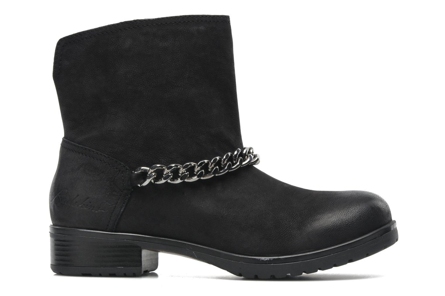 Ankle boots Redskins Lepica Black back view