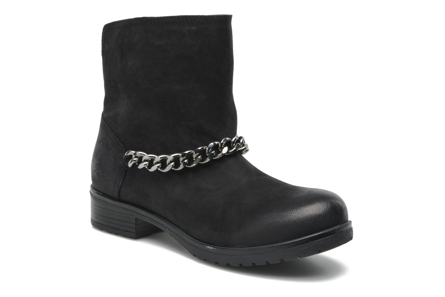 Ankle boots Redskins Lepica Black detailed view/ Pair view