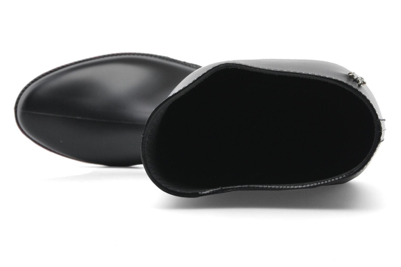 Stiefel Méduse Filo schwarz ansicht von links