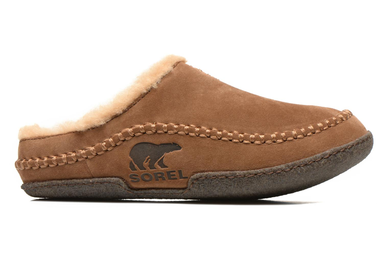 Pantoffels Sorel Falcon Ridge Bruin achterkant