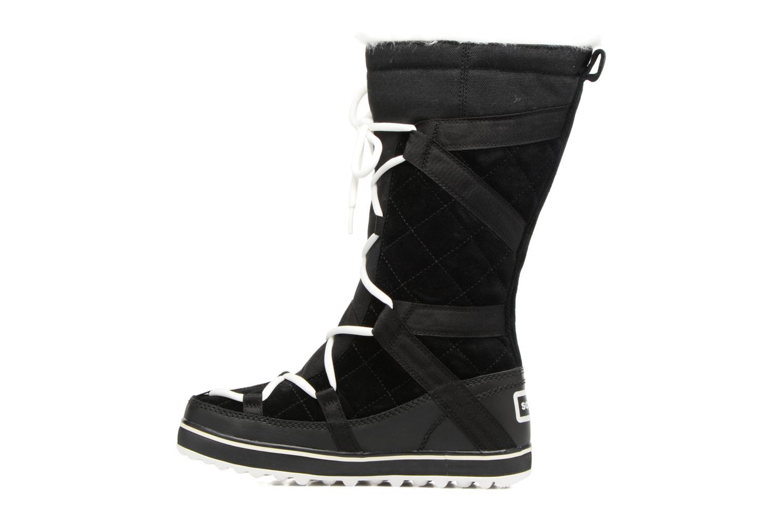 Chaussures de sport Sorel Glacy Explorer Noir vue face
