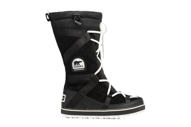 Chaussures de sport Sorel Glacy Explorer Noir vue derrière