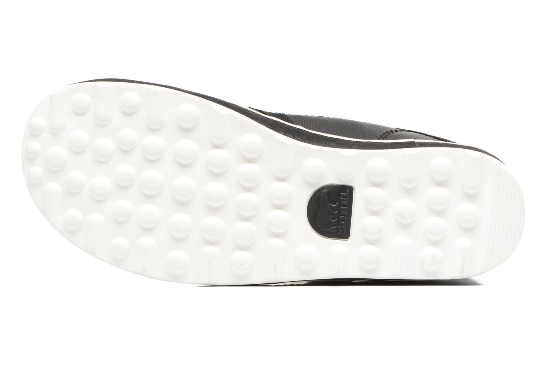 Chaussures de sport Sorel Glacy Explorer Noir vue haut