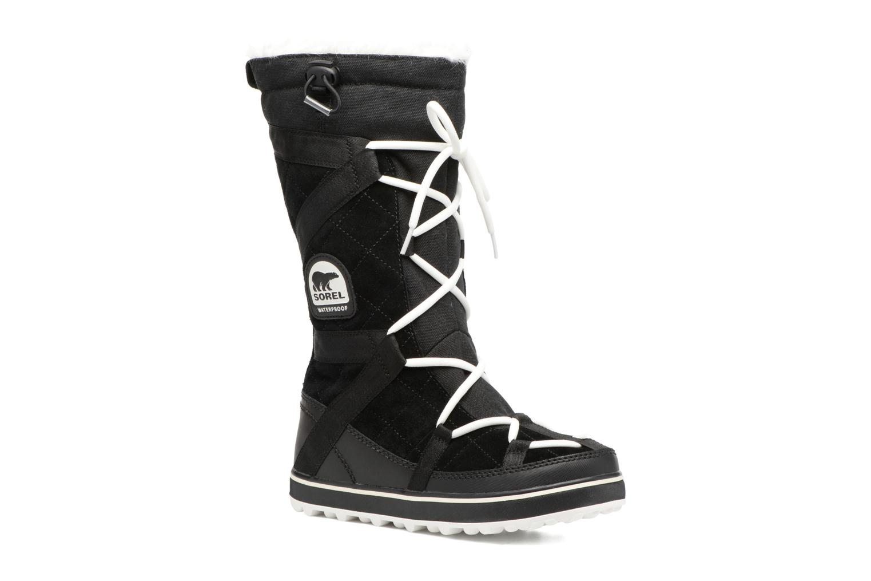 Chaussures de sport Sorel Glacy Explorer Noir vue détail/paire