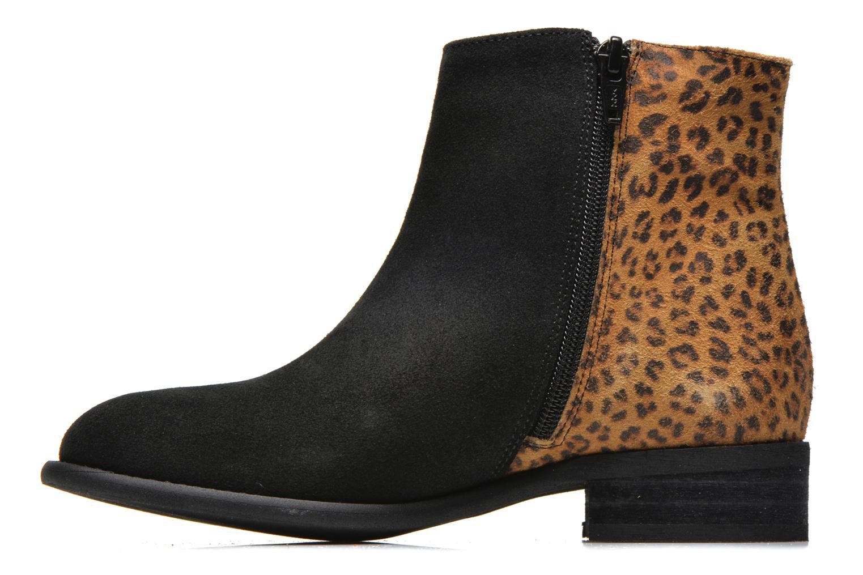 Bottines et boots Yep Amelle Noir vue face