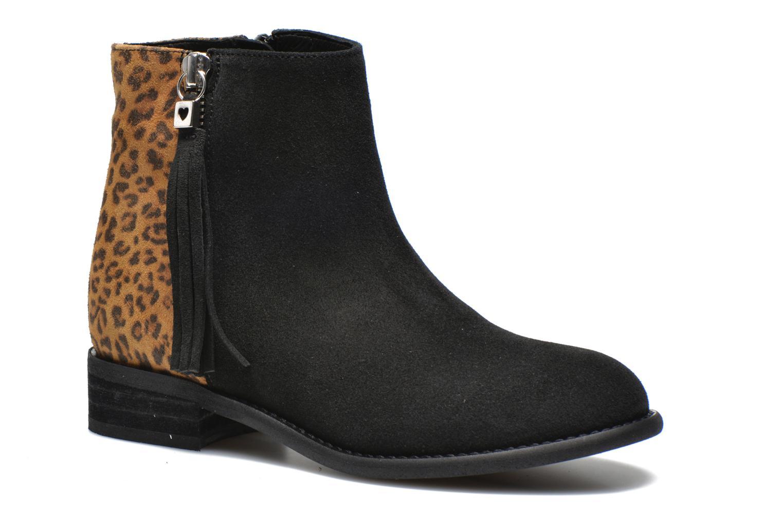 Boots en enkellaarsjes Yep Amelle Zwart detail