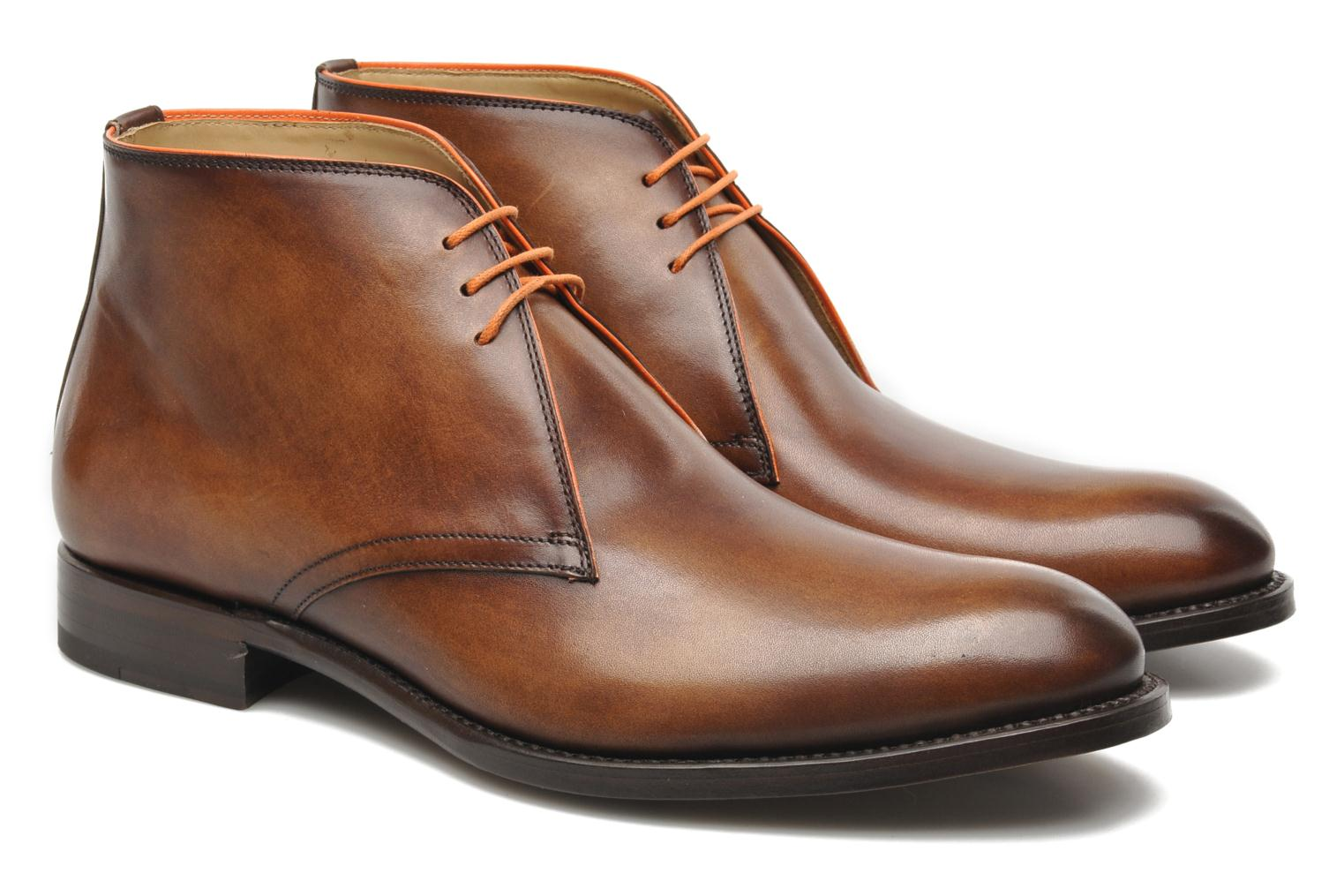 Chaussures à lacets Marvin&Co Luxe Welov Marron vue 3/4