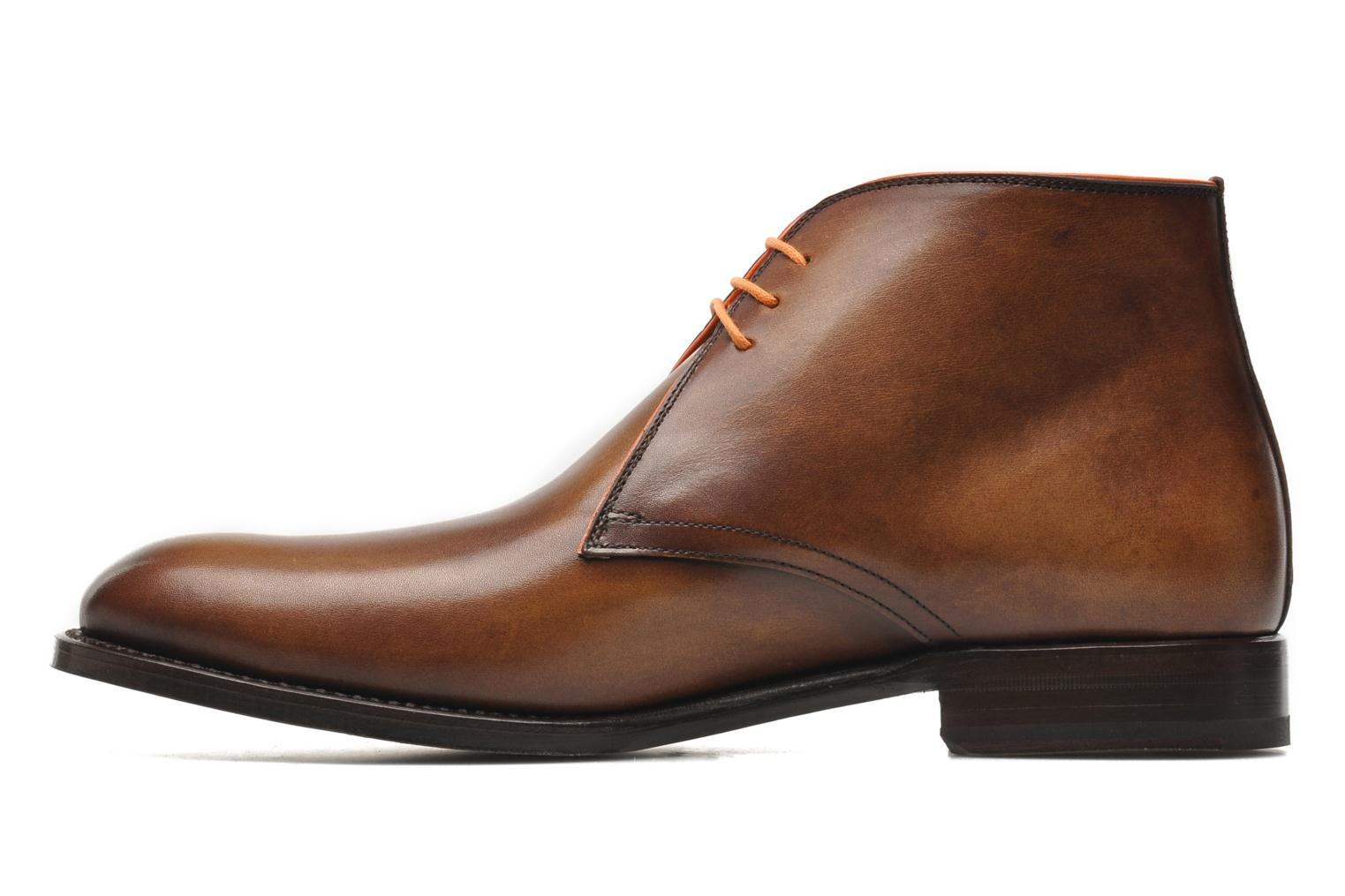 Chaussures à lacets Marvin&Co Luxe Welov Marron vue face