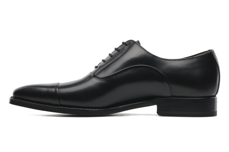Schnürschuhe Marvin&Co Luxe Weloofu schwarz ansicht von vorne