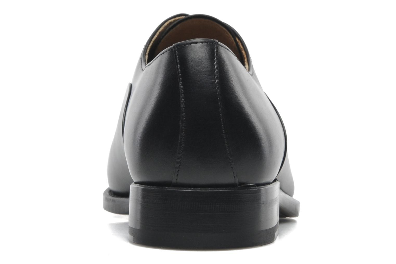 Schnürschuhe Marvin&Co Luxe Weloofu schwarz ansicht von rechts