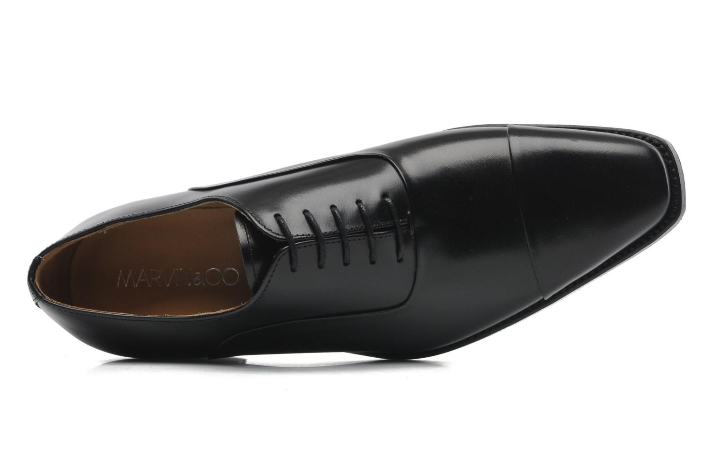 Schnürschuhe Marvin&Co Luxe Weloofu schwarz ansicht von links