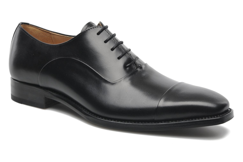 Schnürschuhe Marvin&Co Luxe Weloofu schwarz detaillierte ansicht/modell