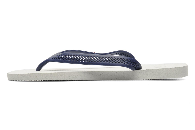 Aero White/Navy blue
