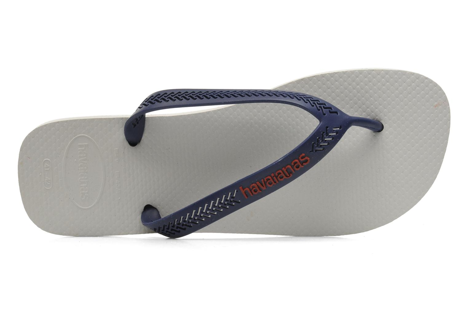 Aero White/Navy blue