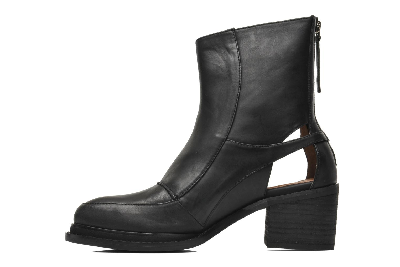 Boots en enkellaarsjes Jeffrey Campbell Modelo Zwart voorkant